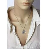 Horus-eye pendant - 14 carat gold