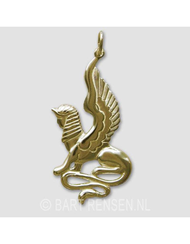 Sphinx Pendant - 14 carat gold