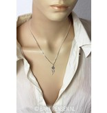I Tjing pendant - 14 carat gold