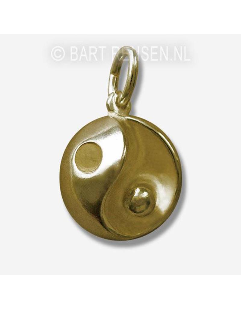 Yin-Yang hanger (als Bol) - 14 krt goud