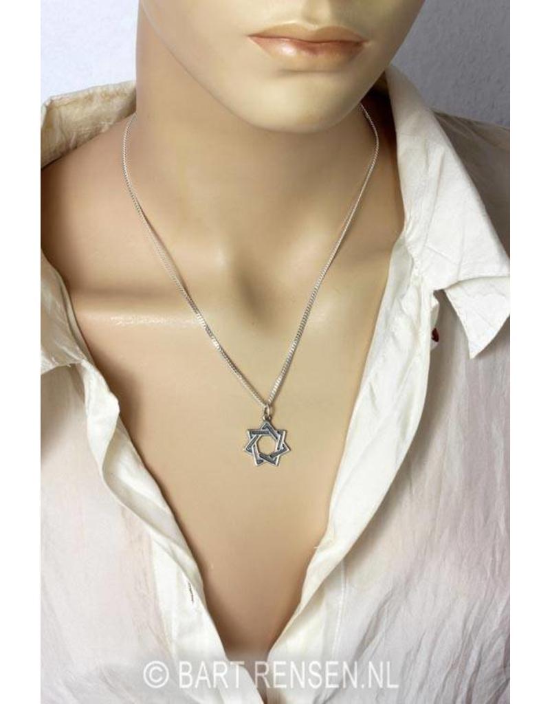 Seven-star pendant - 14 carat gold