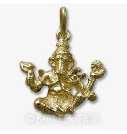 Ganeesha pendant - gold