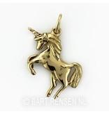 Unicorn pendant - 14 krt gold