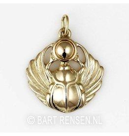 Golden Scarabee pendant -