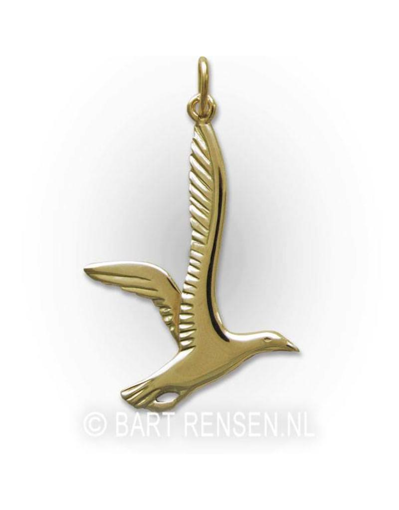 Gull pendant - 14 carat gold