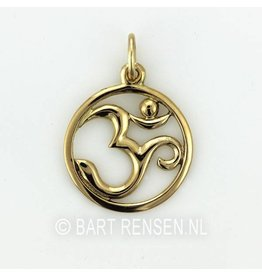 Golden Aum pendant