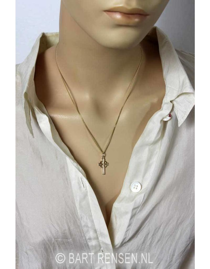 Celtic Cross pendant - 14 carat gold