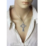 Keltisch Kruis hanger - 14 krt goud