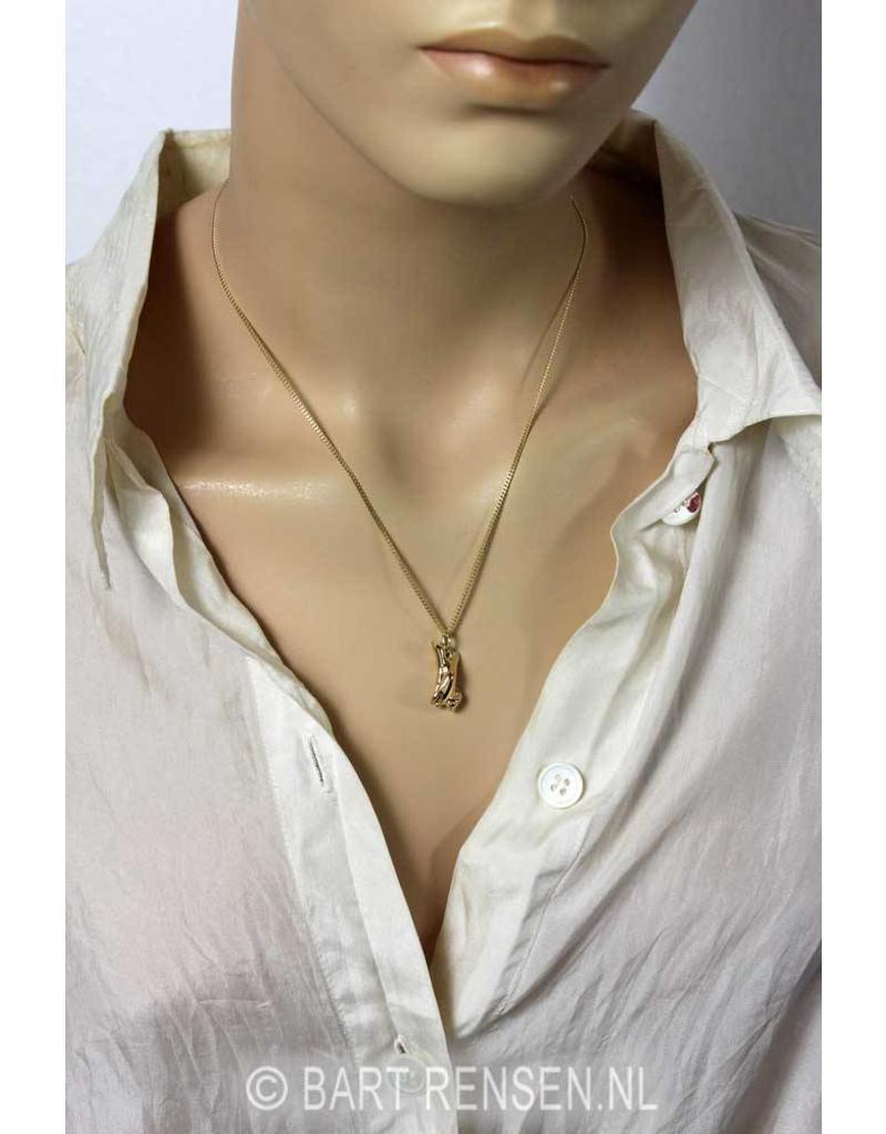 Hand in Hand pendant - 14 carat gold