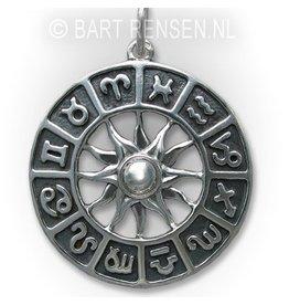 Horoscope pendant - gold