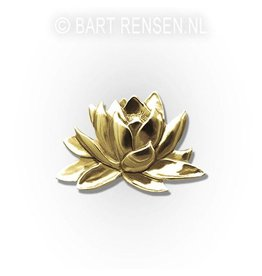 Lotus brooche - gold