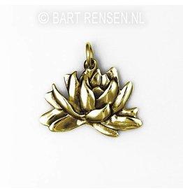Gouden Lotus hanger