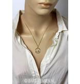 Lotus pendant - 14 carat gold