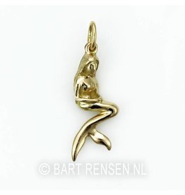 Golden Mermaid pendant