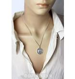 Reiki pendant - 14 carat gold