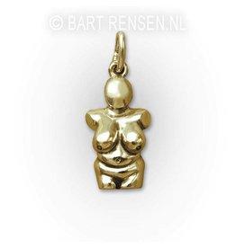 Venus pendant - gold
