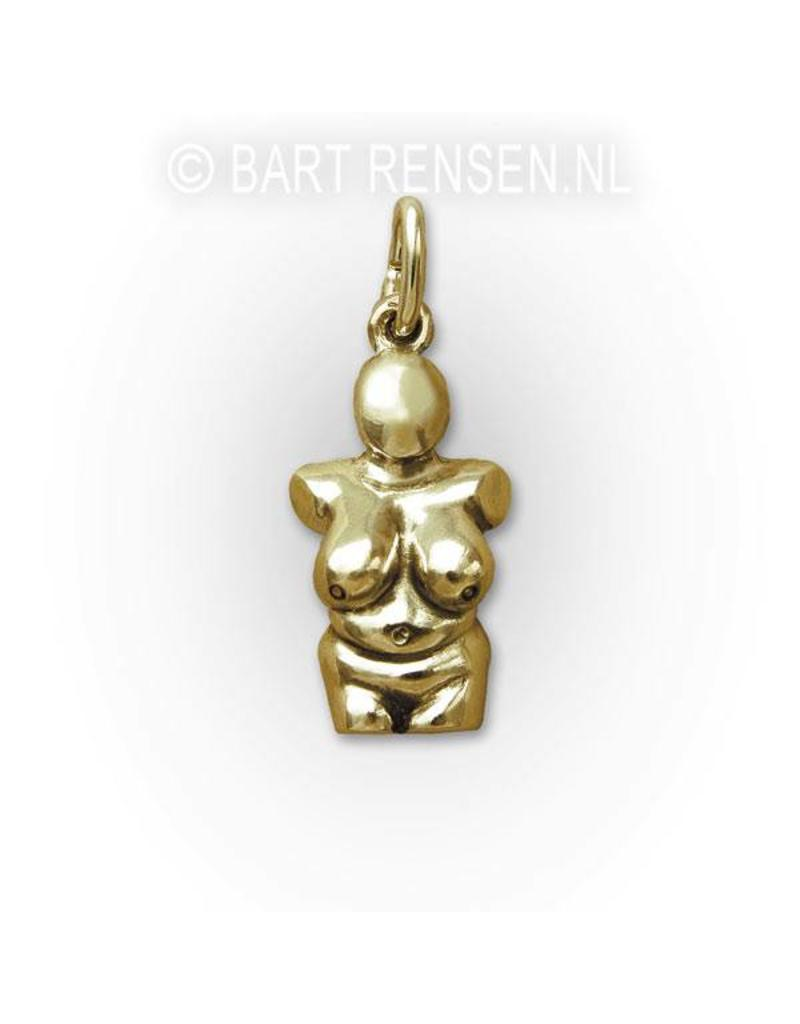 Venus pendant - 14 carat gold