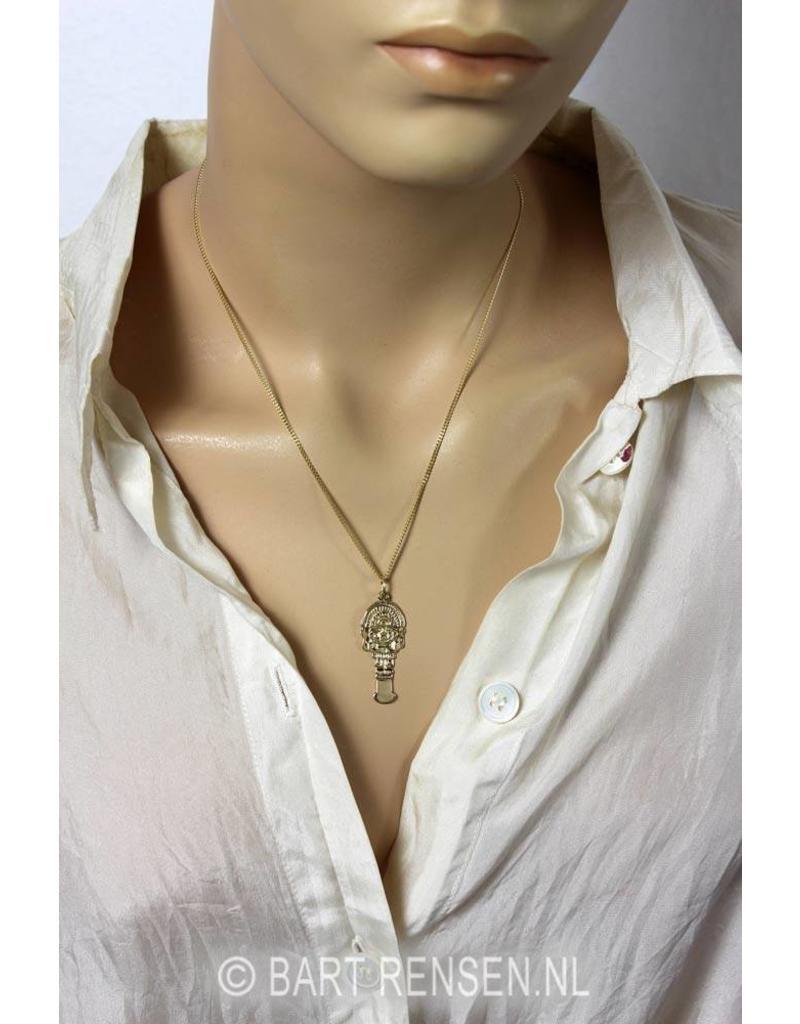 Tumi pendant - 14 carat gold