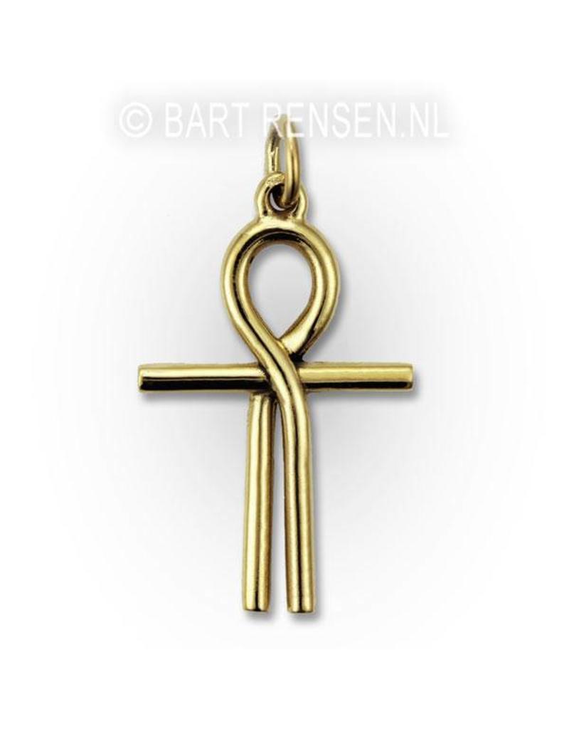 Ankh of Isis pendant - 14 carat gold