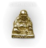 Lachende Boeddha hanger - 14 krt goud