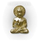 Buddha pendant - 14 carat gold