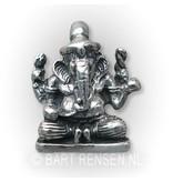 Ganesha pendant - 14 carat gold