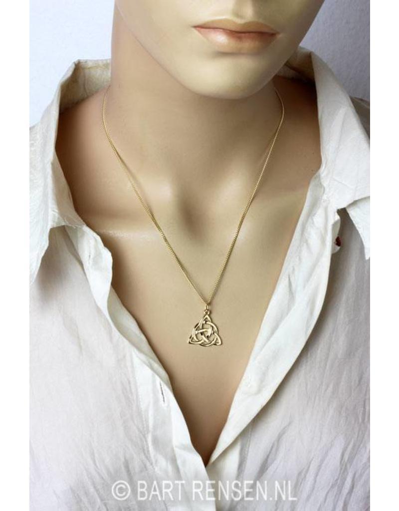 Triquetra pendant - 14ct gold