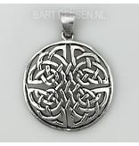 Celtic Knot pendant - sterling  silver