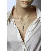 Chakra pendant & Gemstones - sterling silver