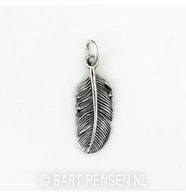Veer hanger - zilver