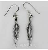 Feather Earrings - sterling silver
