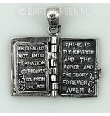 Bible pendant - sterling silver