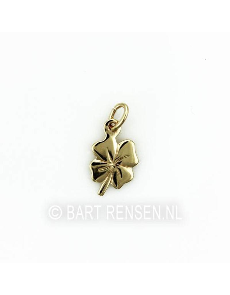 Four Leaf Clover pendant - 14 carat gold