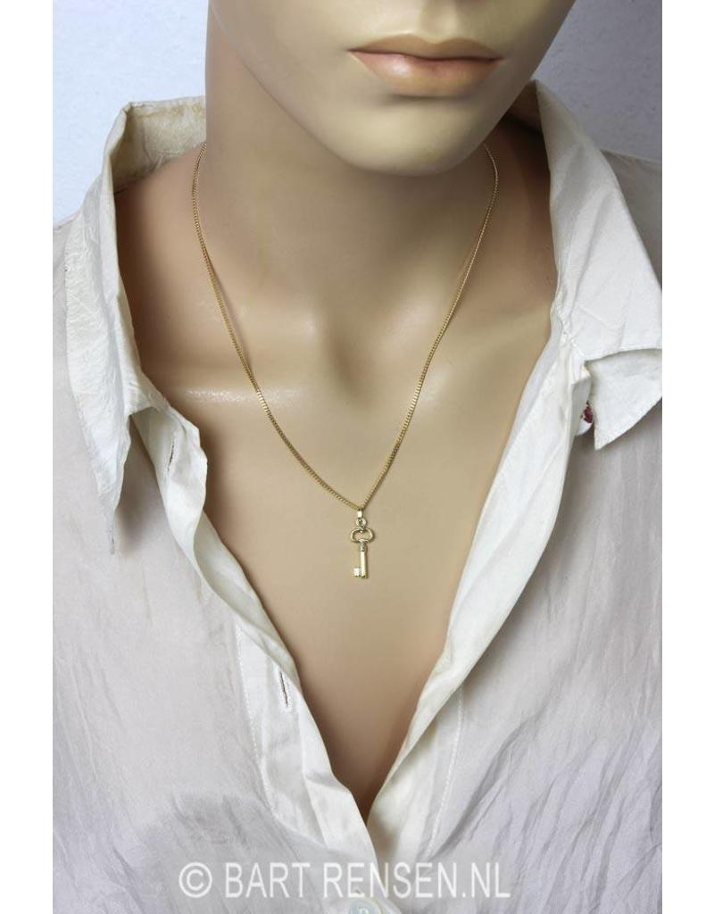 Key pendant - 14 carat gold