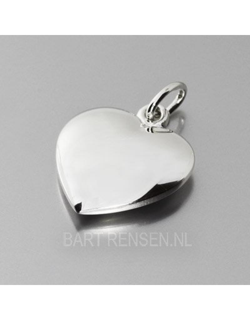 Hart hanger-echt zilver