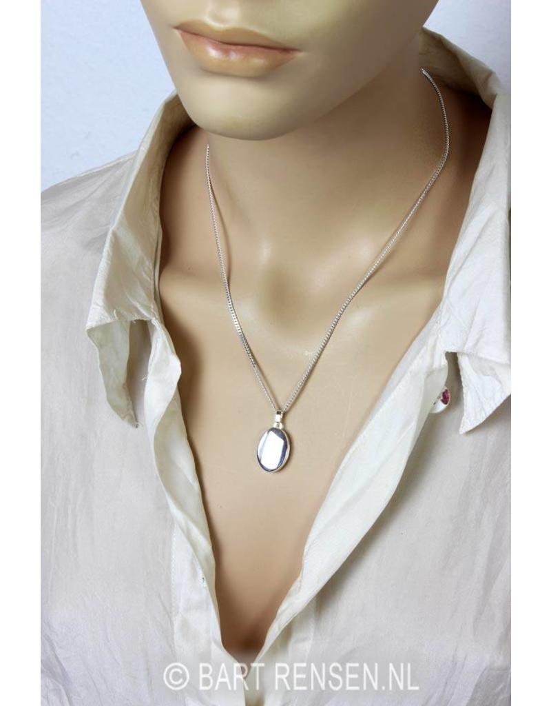 Locket pendant - sterling silver