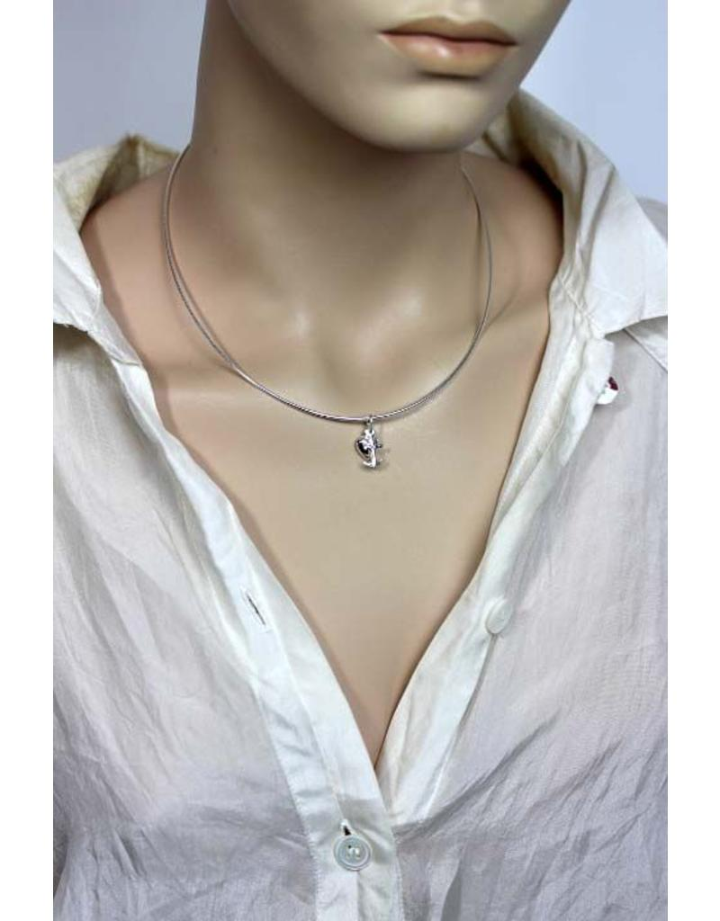 Geloof Hoop Liefde hanger - echt zilver