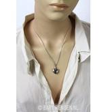 Ash pendants - sterling silver