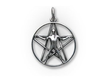 Pentagram pendants
