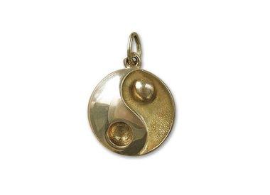 golden chinese pendants