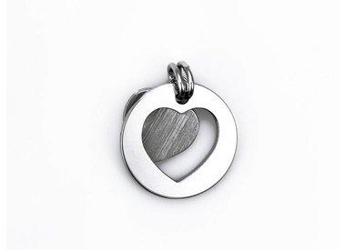 heart jewelry - silver