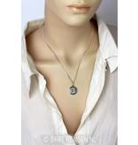 Crown Chakra pendant - sterling silver