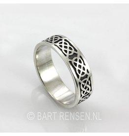 Keltische Ringen - zilver
