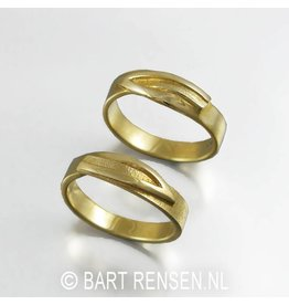 Wedding rings - gold