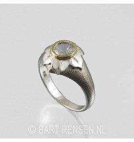 Lotus Ring - silver