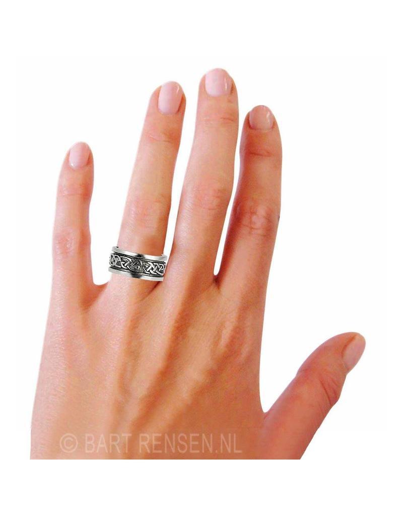 Keltische Ring - echt zilver