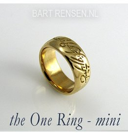 Lord of the Ring pendant - gold