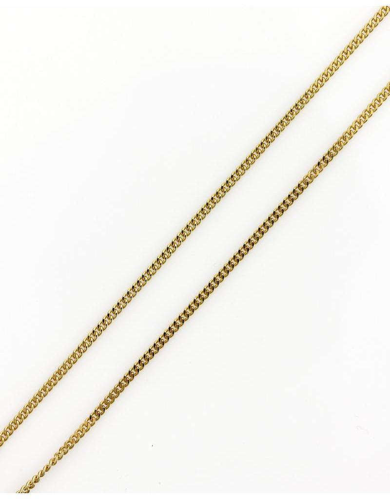 Gouden Gourmet ketting - 14 krt goud