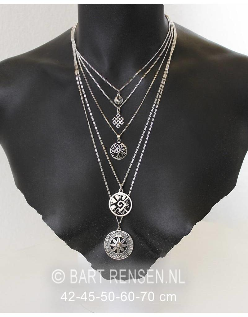 Gourmet Necklace - sterling silver