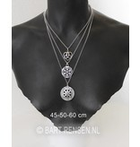 Jasseron Necklace - sterling silver